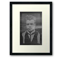 Hermann Rorschach Lines Framed Print
