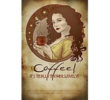 Coffee Propaganda Photographic Print