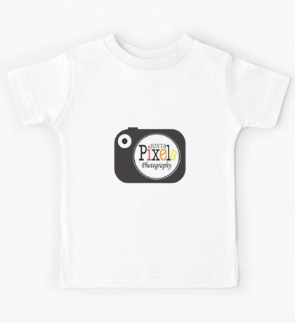 JuxtaPixels Camera Logo (t-shirt) Kids Tee