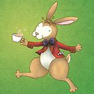 The Frolocking March Hare by Katie Corrigan