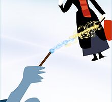 Mary Poppins VS Voldermort by Jessica Slater