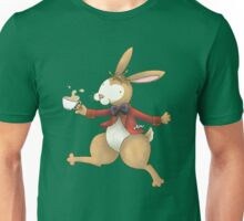 The Frolocking March Hare Unisex T-Shirt