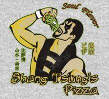 Shang Tsung's Pizza Kids Tee