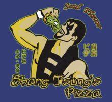 Shang Tsung's Pizza by Rodrigo Marckezini
