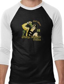 Shang Tsung's Pizza Men's Baseball ¾ T-Shirt