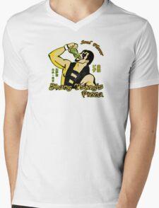 Shang Tsung's Pizza Mens V-Neck T-Shirt