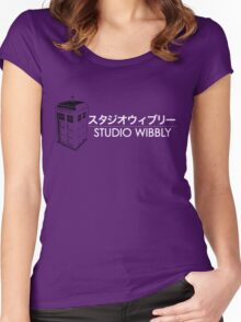 Studio Wibbly Women's Fitted Scoop T-Shirt