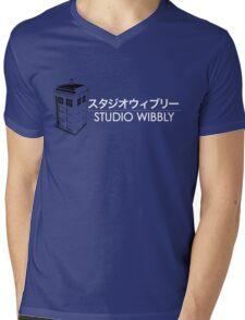 Studio Wibbly Mens V-Neck T-Shirt