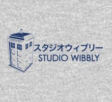 Studio Wibbly: Blue Varient  One Piece - Long Sleeve