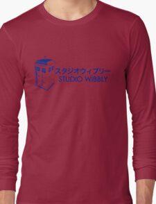 Studio Wibbly: Blue Varient  Long Sleeve T-Shirt