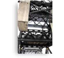 Third Street Bridge Vertical Canvas Print