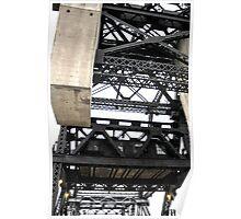 Third Street Bridge Vertical Poster