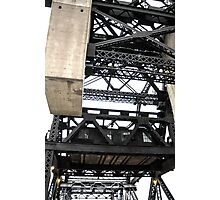 Third Street Bridge Vertical Photographic Print