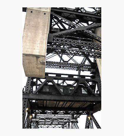 Third Street Bridge Vertical Photographic Print