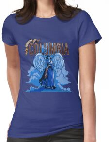 Greeting from Columbia. Womens Fitted T-Shirt