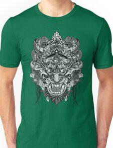 Mask Black & White Unisex T-Shirt