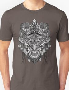Mask Black & White T-Shirt