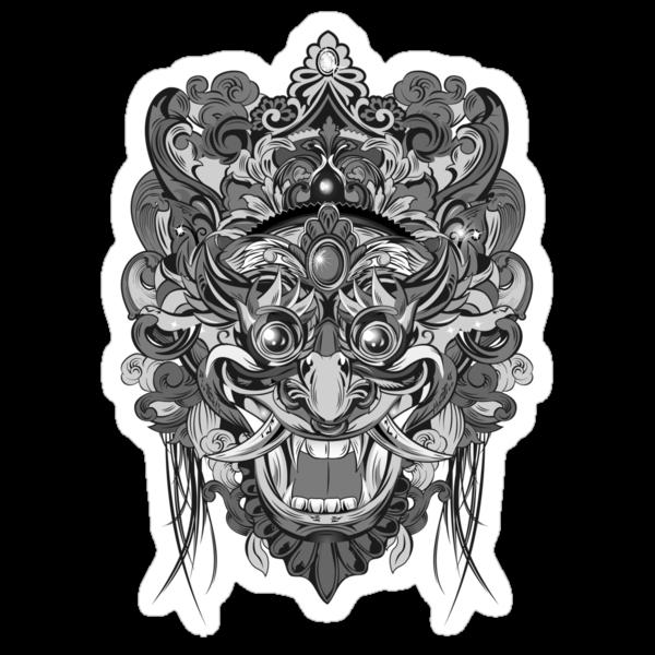 Mask Black & White by candelakis