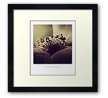 PANTONE  #125 Framed Print