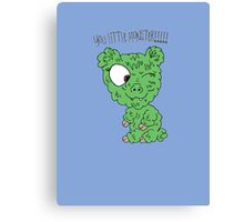 You Little Monster !!!!! Canvas Print