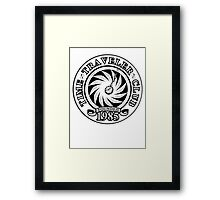 Time Traveler Club - 1985 Framed Print