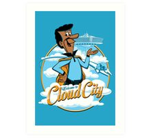 Welcome to Cloud City Art Print