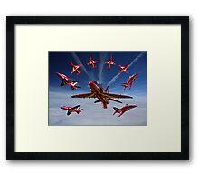 The RAF Red Arrows Framed Print