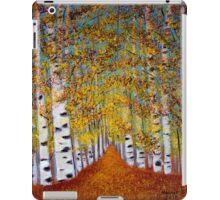 Birch trees iPad Case/Skin