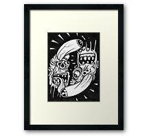 circle of meth Framed Print