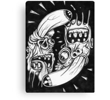 circle of meth Canvas Print