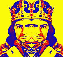 Laurence Olivier, double in Richard III by Art Cinema Gallery