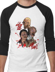 Evil Dead 2: Dead by Dawn - Artwork - I'll Swallow your soul! Men's Baseball ¾ T-Shirt