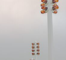 Orange Lights and Fog by studiojanney