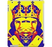 Laurence Olivier, double in Richard III iPad Case/Skin