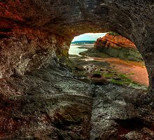 HDR St Martins Caves Interior Rock by Jamie Roach