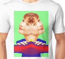 Shirley MacLaine, double Unisex T-Shirt