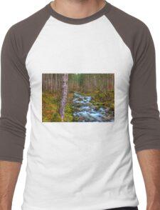 Cascades Men's Baseball ¾ T-Shirt