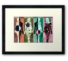 Body Language 8 Framed Print