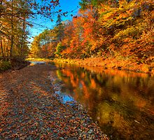 HDR Waterford Trout Creek Autumn by Jamie Roach