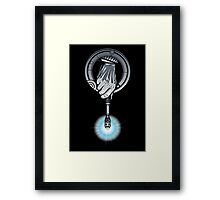 Hand of the 10th Time Lord Framed Print