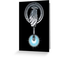 Hand of the 10th Time Lord Greeting Card