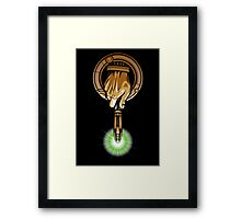 Hand of the 11th Time Lord Framed Print