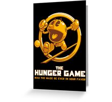 The Hunger Game Greeting Card