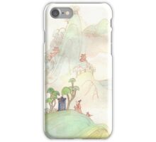 Misty Mountain Tardis iPhone Case/Skin