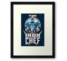 The Iron Chef Framed Print