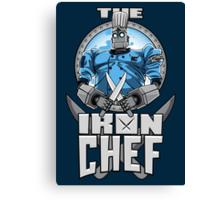 The Iron Chef Canvas Print
