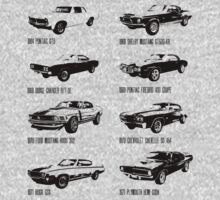 Muscle Cars by Claudia Santos