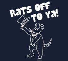 Rats Off to Ya! (White) by QuestionSleepZz