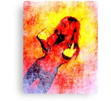Middle Finger Canvas Print