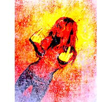 Middle Finger Photographic Print